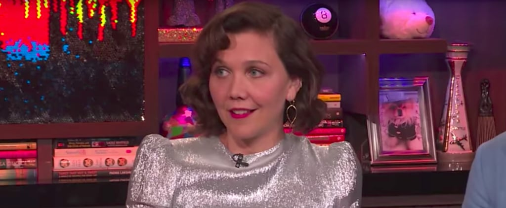 Maggie Gyllenhaal Talks About Taylor Swift's Scarf