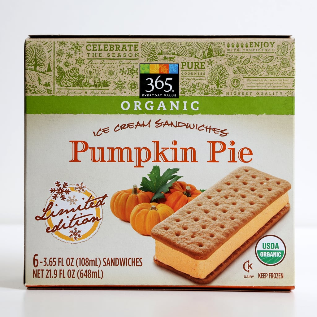 365 Pumpkin Pie Ice Cream Sandwiches