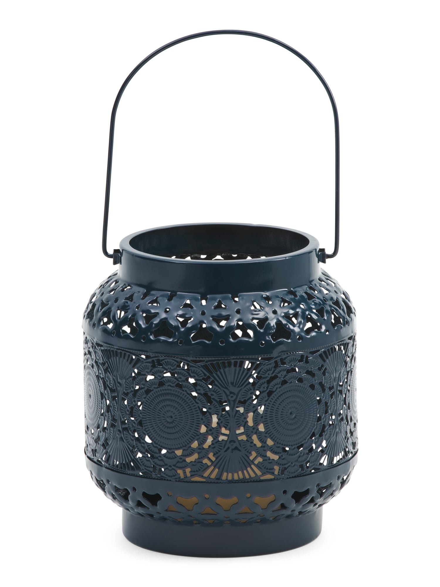 Pierced Metal Led Lantern Refresh Your Living Space For