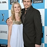 James Franco and Ahna O'Reilly