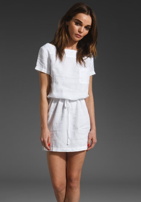 James Perse Linen T-Shirt Dress ($175)