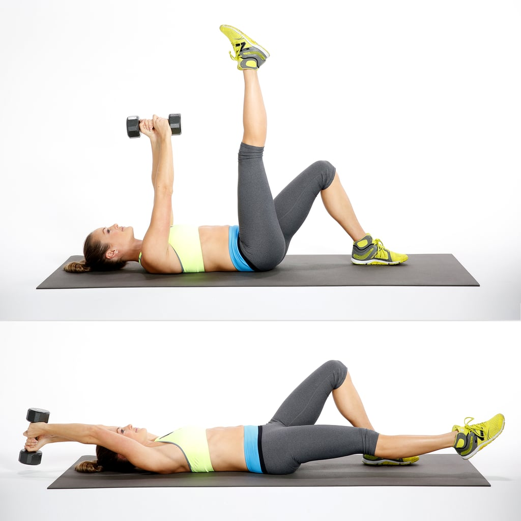 Overhead Reach With Leg Lower