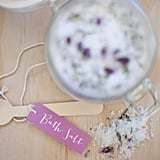 """Spoil Yourself"" Bath Salt Packaging"