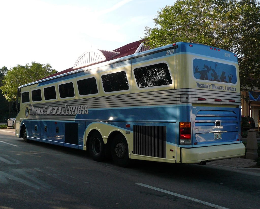 If you're staying on site, take Disney's Magical Express.