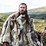 Whether he's covered in furs or blood, Rollo pulls it off.