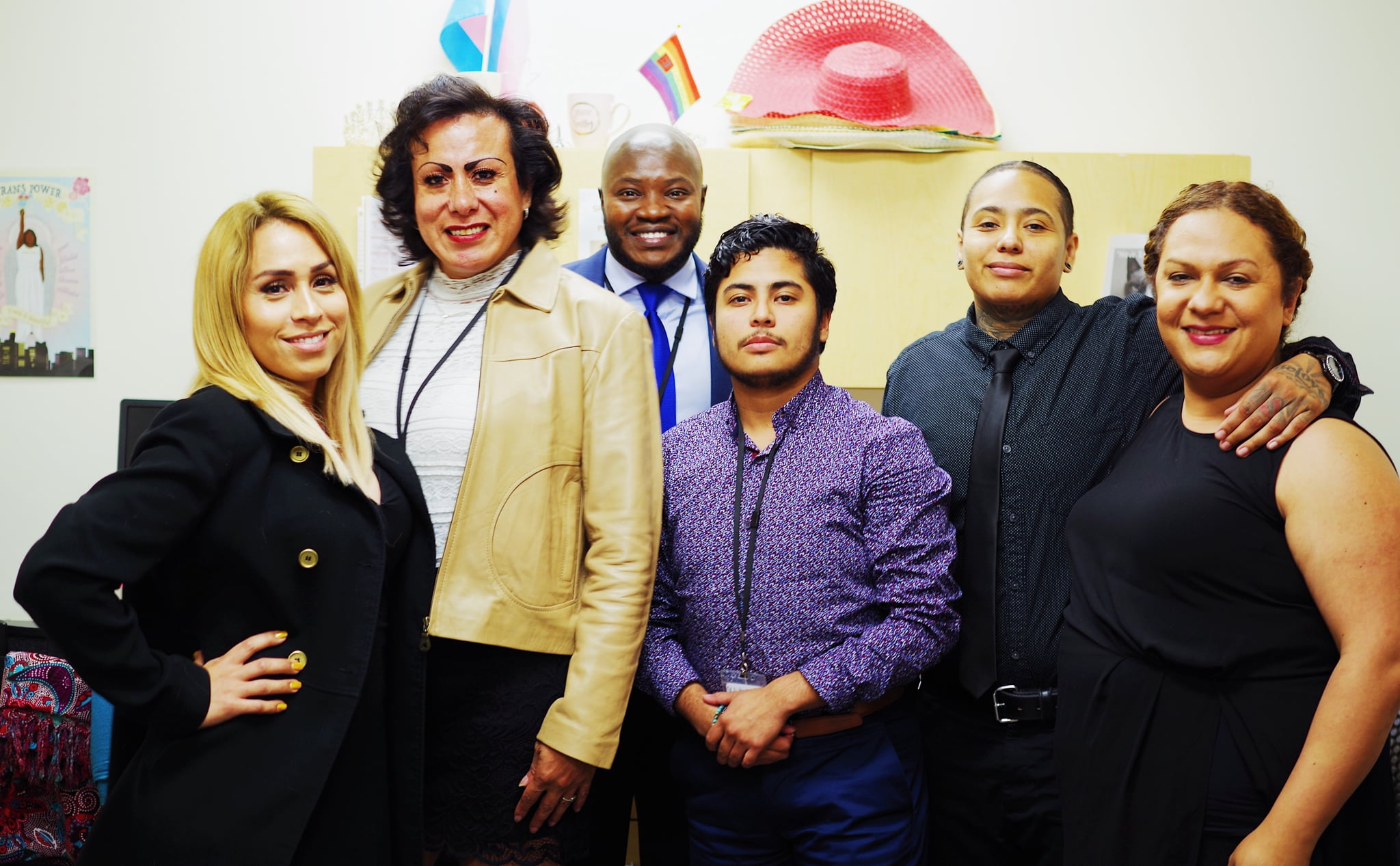 Rizi Timane and his team at St. John's Well Child and Family Center in Los Angeles