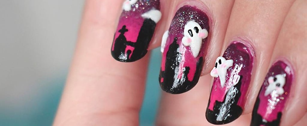 Scare Away the Spirits With These 3D Nail Art Designs