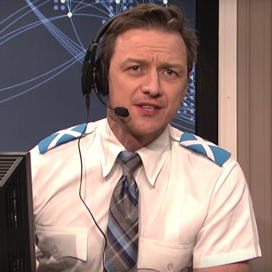 James McAvoy Air Traffic Control SNL Skit Video January 2019