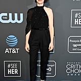 Claire Foy at the 2019 Critics' Choice Awards