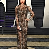 Gemma Chan at the 2019 Vanity Fair Oscar Party