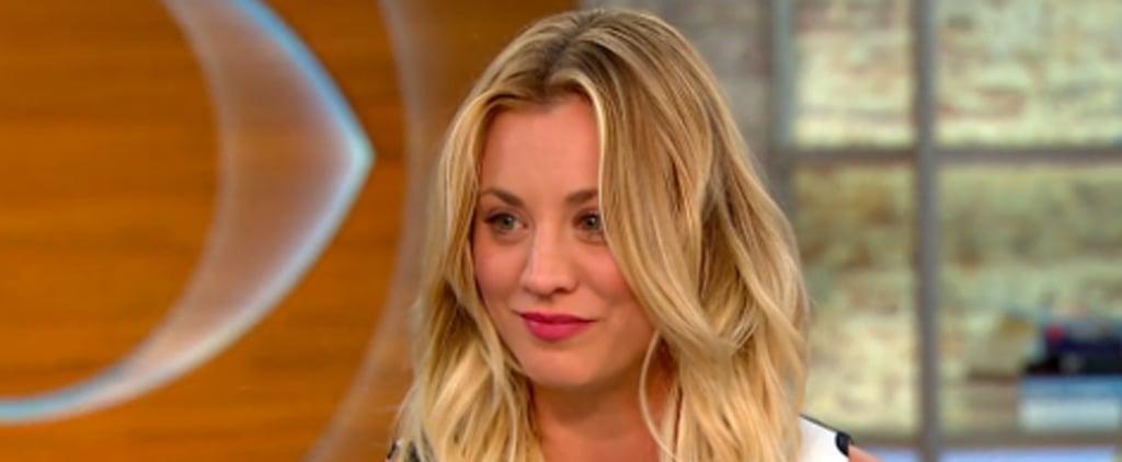 Kaley Cuoco Talks Divorce on CBS This Morning May 2016