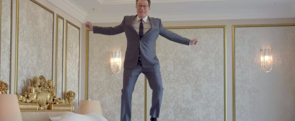 Stephen Colbert Rented Donald Trump's Hotel Room in Russia — Yes, That One