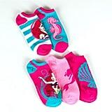 Ariel No-Show Socks