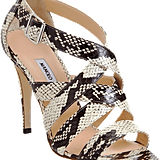 These sexy Manolo Blahnik Antofac sandals will last you a lifetime of compliments.