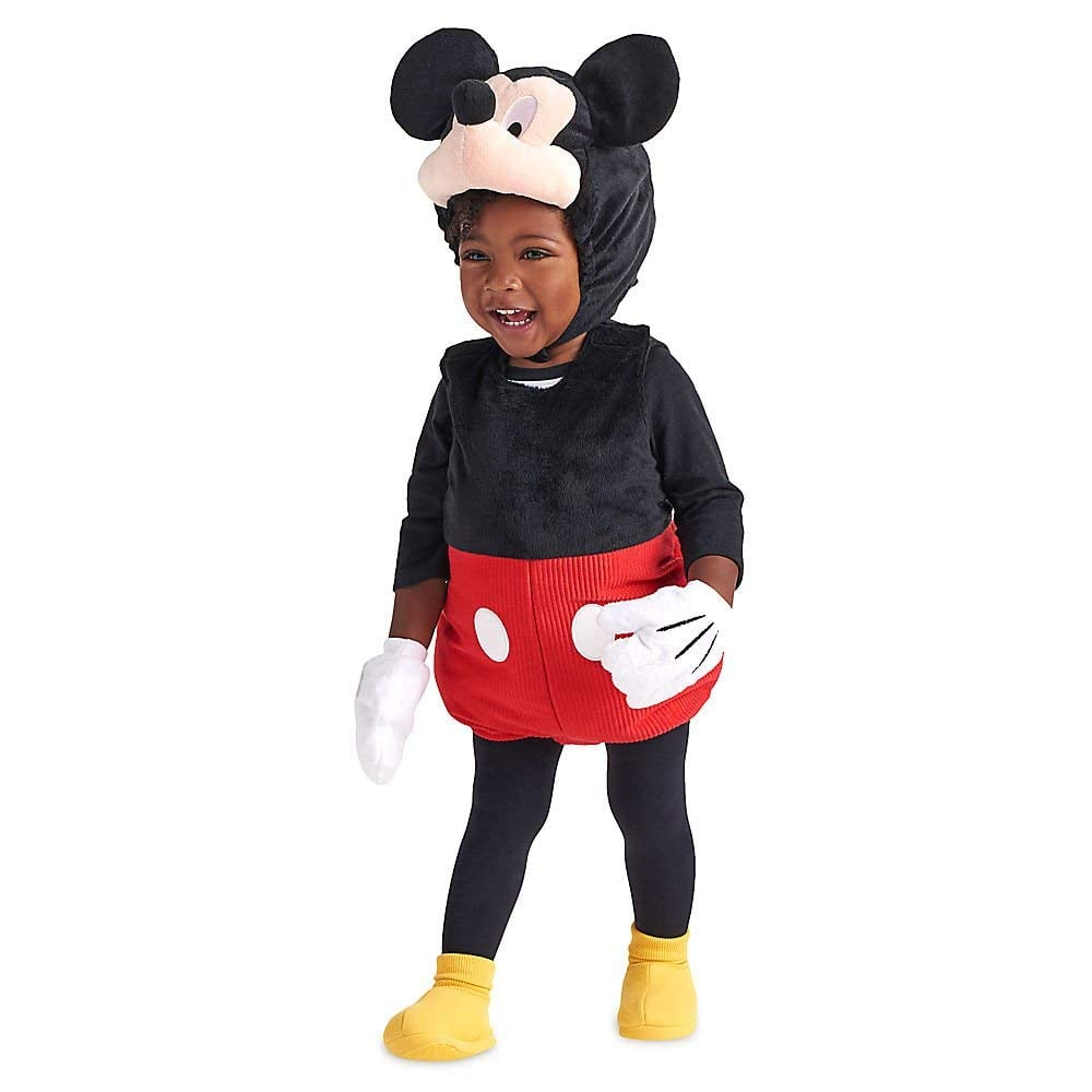 Disney Mickey Mouse Plush Costume For Baby  sc 1 st  Popsugar & Disney Mickey Mouse Plush Costume For Baby | Mickey and Minnie Mouse ...