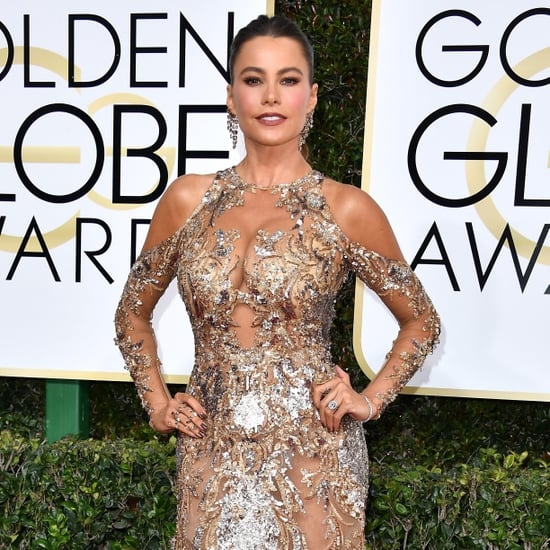 Joke About Sofia Vergara's Accent at the Golden Globes 2017