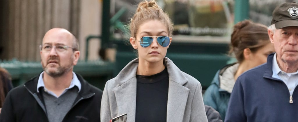 Gigi Hadid Walked Around New York in a Leotard — and Looked Friggin' Flawless