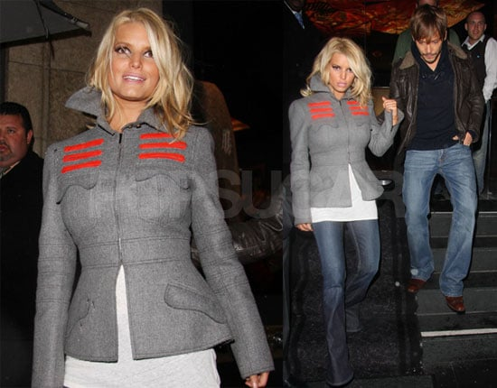 Jessica Simpson with Ken Paves