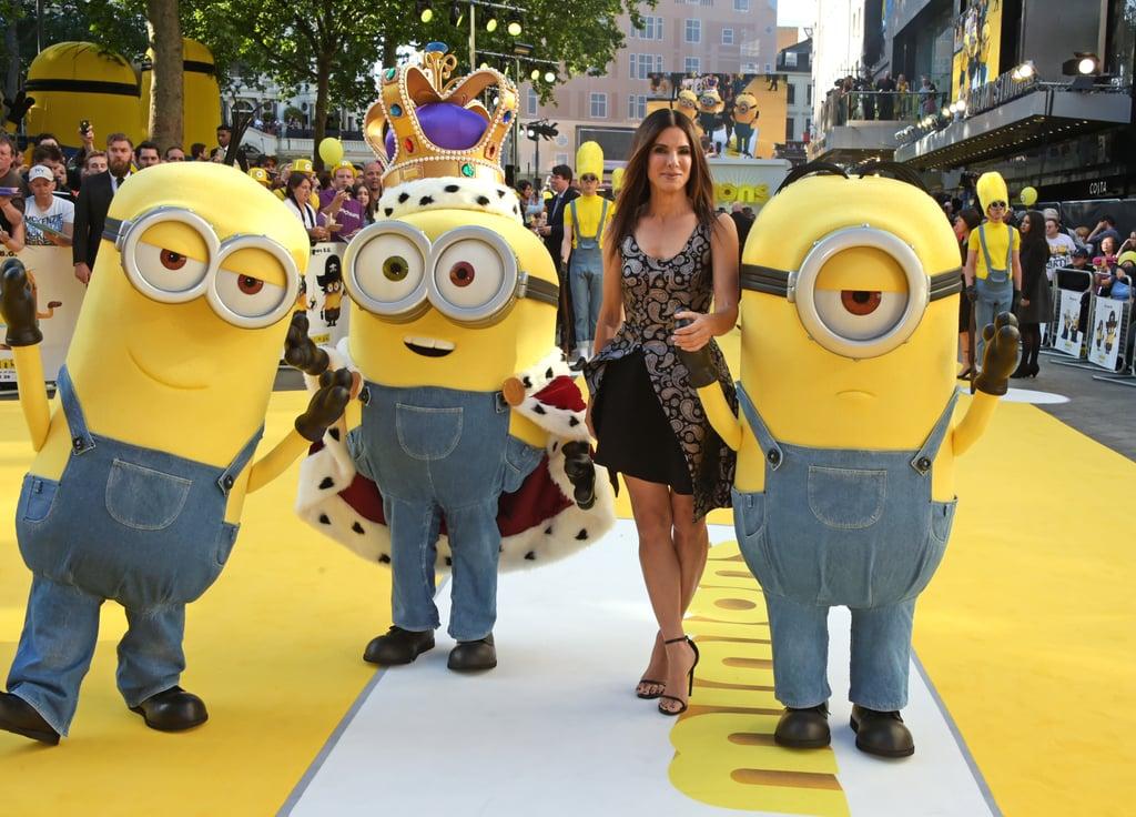 Sandra Bullock Minions Premiere Pictures