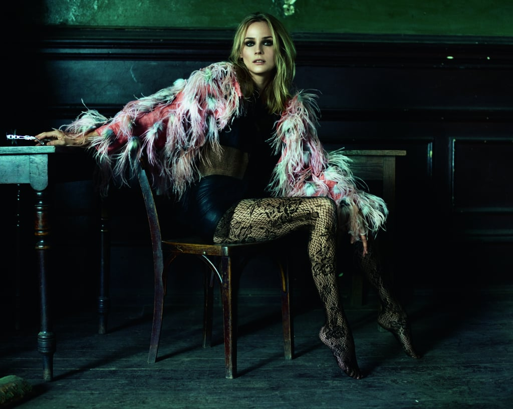 Photos of Diane Kruger in Marie Claire Magazine