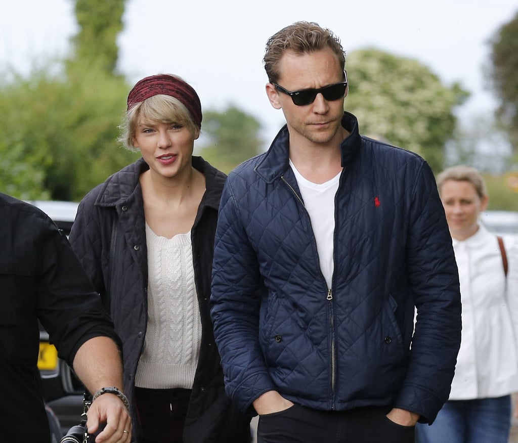 """June 15: Pictures surfaced of Taylor cuddled up on a romantic beach date with Tom Hiddleston in Rhode Island, leading fans to believe that the star had moved on from Calvin. That same day, Calvin deleted all of his social media pics with Taylor, unfollowed her and her brother, Austin, and even started blocking Taylor fan accounts. He also sent out a now-deleted tweet that read, """"Oh boy it's about to go down."""" Taylor must have caught wind of this because she unfollowed Calvin from Twitter hours later and deleted all of their photos together from Instagram.   June 21: Taylor and Tom were spotted dancing the night away at pal Selena Gomez's concert in Nashville, TN. Later that evening, the pair held hands while walking down the street with a couple of Taylor's friends."""