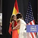 Michelle Obama Delpozo Dress in Spain June 2016