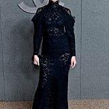 Christy Turlington Stunned in a Lace Dress