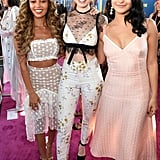 Vanessa Morgan, Madelaine Petsch, and Camila Mendes