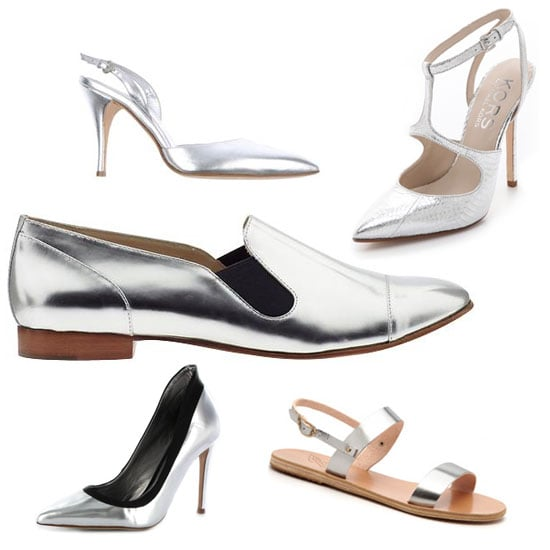 Deskbound Buys: Silver Shoes