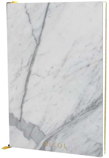 MIKOL - Real Marble Notebooks ($85)