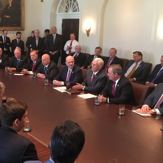 Room Full of Men Propose Women's Healthcare Cut