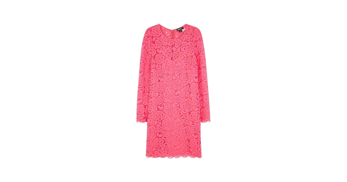 Dkny Pink Lace Dress Best Lace Dresses In Every Colour For