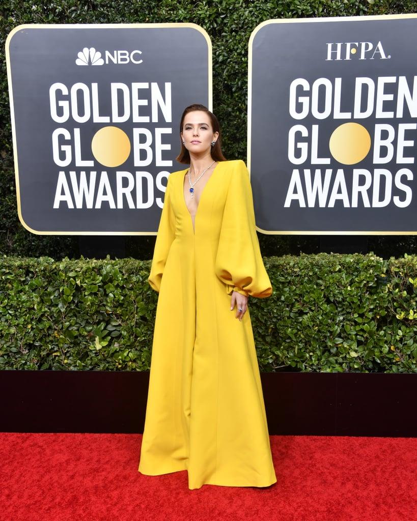 Zoey Deutch at the 2020 Golden Globes