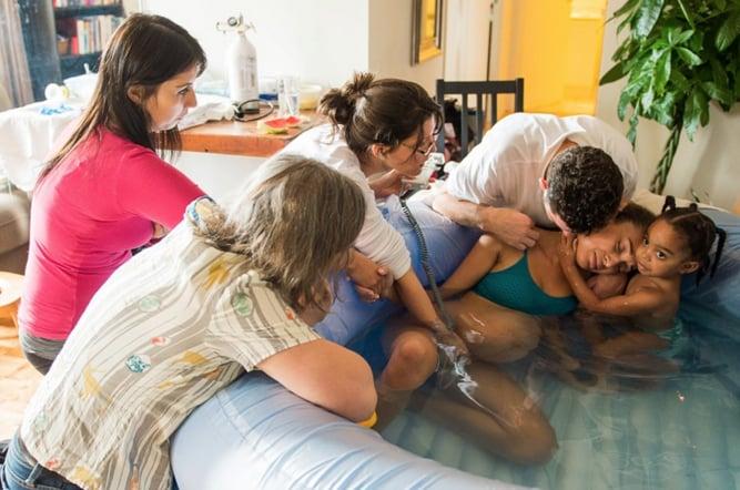 Photos of Water Births