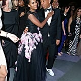 Pictured: Kerry Washington and Russell Simmons