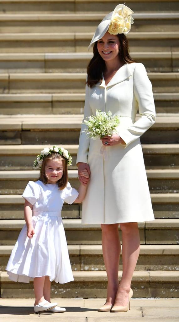 الأميرة شارلوت وكيت ميدلتون