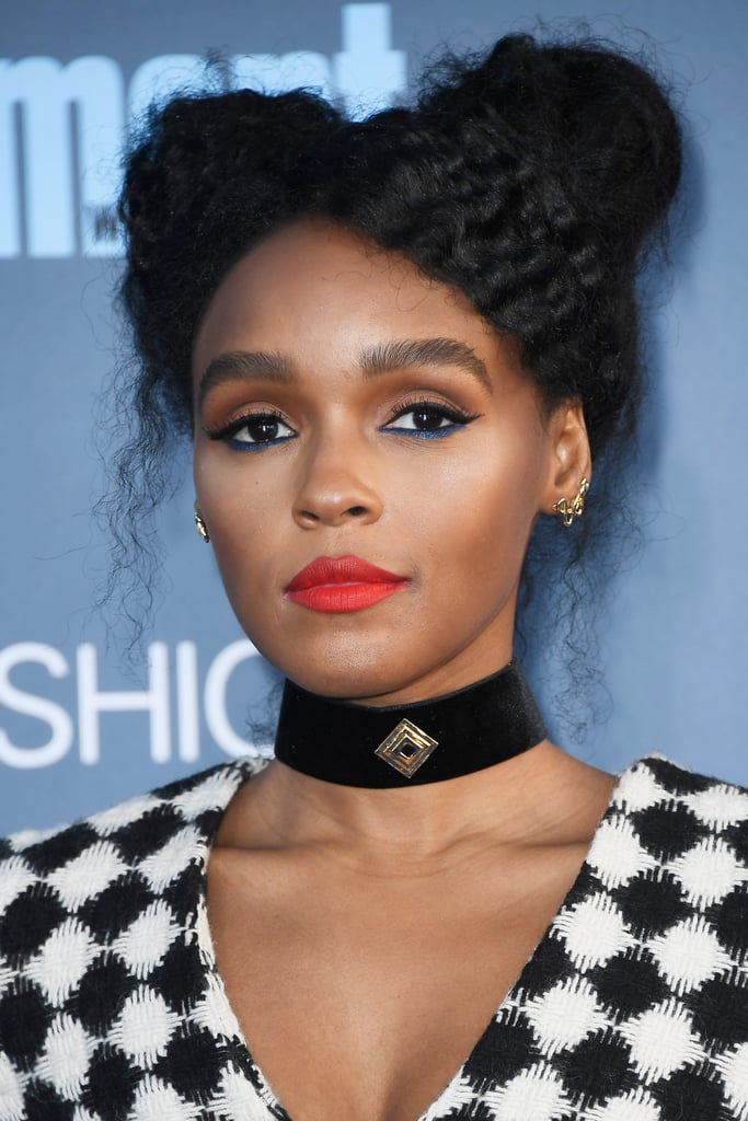Janelle Monaé-Golden Globes 2017-makeup trends