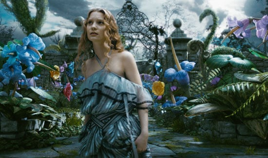 Movie Review of Tim Burton's Alice in Wonderland, Starring Johnny Depp, Mia Wasikowska, Helena Bonham Carter, and Anne Hathaway