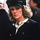 Camilla Attends an Event in Hyde Park, London, in 1989