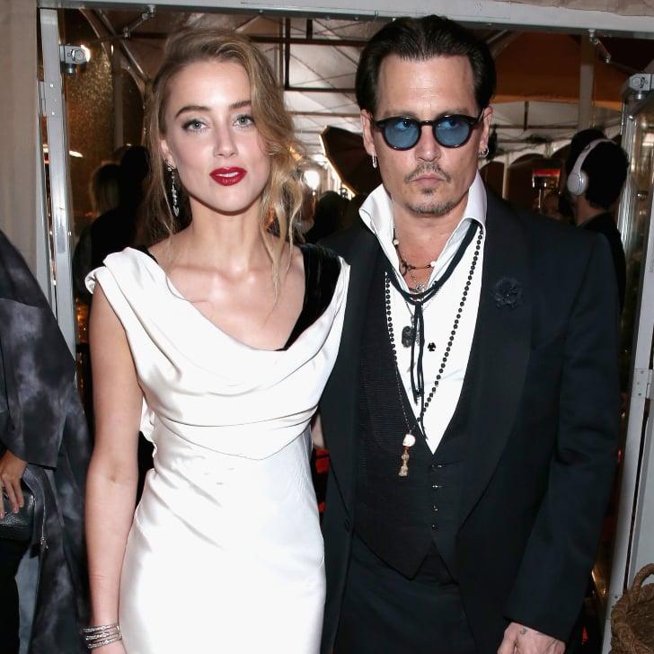 What Did Amber Heard S Wedding Dress Look Like Popsugar Fashion