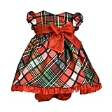 Bonnie Baby Christmas Plaid Dress