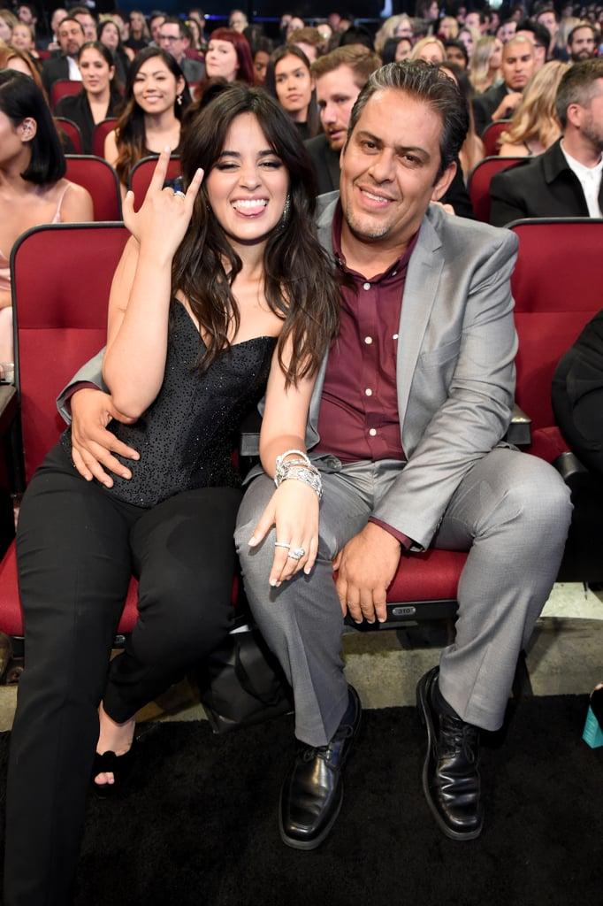 Pictured: Camila and Alejandro Cabello