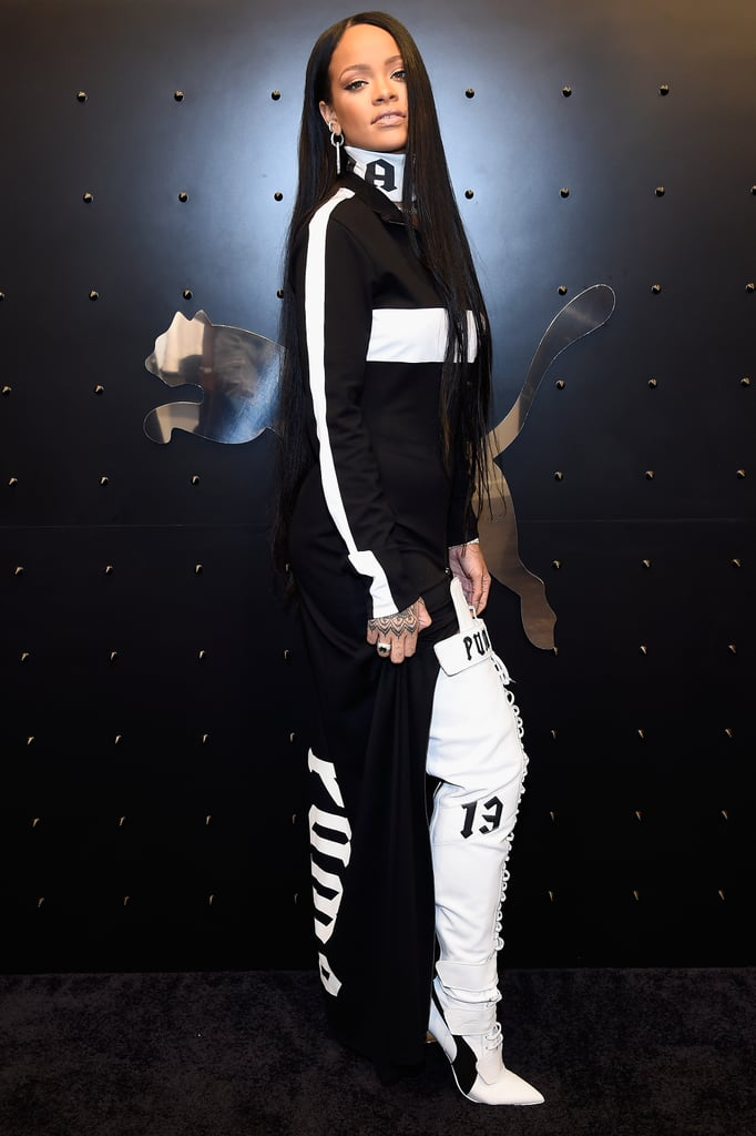 rihanna puma launch