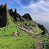 Skellig Michael in County Kerry, Ireland