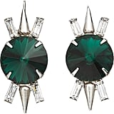 Fallon keeps coming out with amazing pieces and my latest obsession are these gorgeous, subversive Crystal Spike Earrings ($275). The emerald green stones are sure to add a decadent touch to all of my cold weather ensembles this season.  — Chi Diem Chau, associate editor