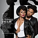 Taraji P. Henson and Jussie Smollett For MAC Cosmetics