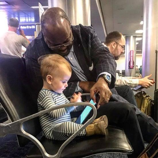 Stranger Befriends Child at an Airport