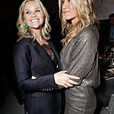Jennifer Aniston and Reese Witherspoon hugged it out at Elle's 18th Annual Women in Hollywood Tribute.