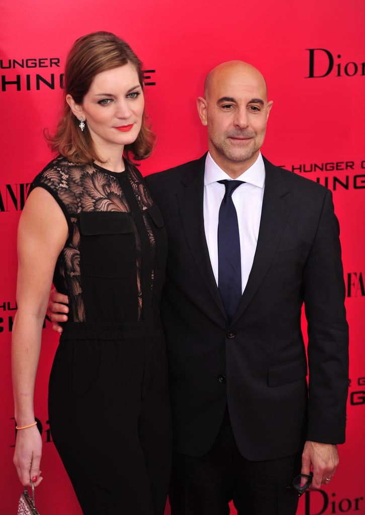 Stanley Tucci was among the other stars at the NYC premiere.