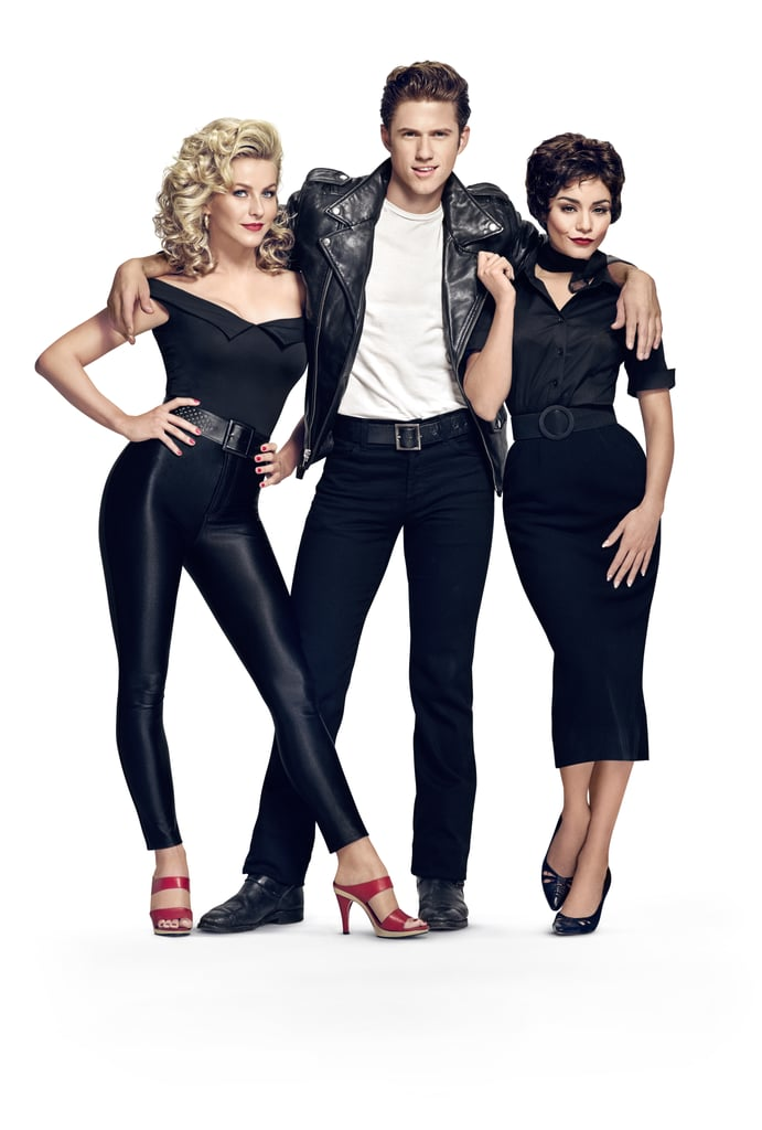 grease live cast popsugar celebrity australia